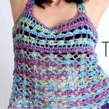 Top Playero a Crochet