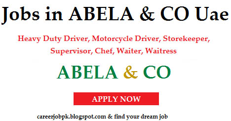 Jobs in Abela & Co Uae