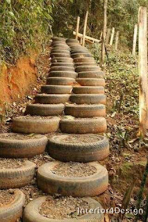 Use old tires