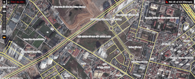 Vị trí chung cư cao cấp Royal Land.