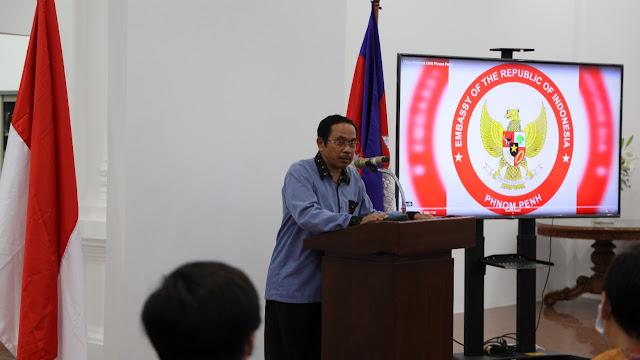 Luncurkasn sarana Promosi Prodak Bagi Pengusaha Indonesia Dan Kamboja KBRI Phnom Penh Dorang Diplomasi Ekonomi
