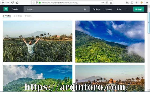 Daftar situs penyedia gambar gratis dan cara mengeditnya agar tidak melanggar hak cipta