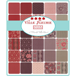 Moda Ville Fleurie Fabric by French General for Moda Fabrics