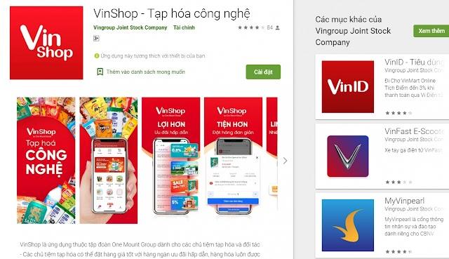 Vingroup tung app thương mại điện tử mới, nhắm thẳng đến các chủ tiệm tạp hoá