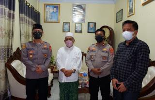 Sehari Menjabat, Kapolres Serang Kota Terus Jalin Silaturahmi Dengan Ulama