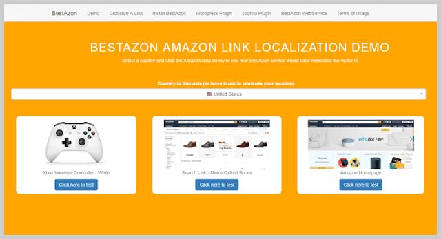 Amazon Link Localization by BestAzon
