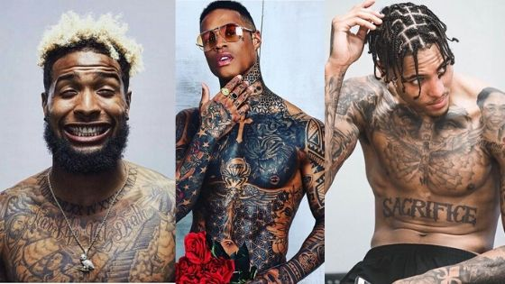 Chest Tattoos For Black Men