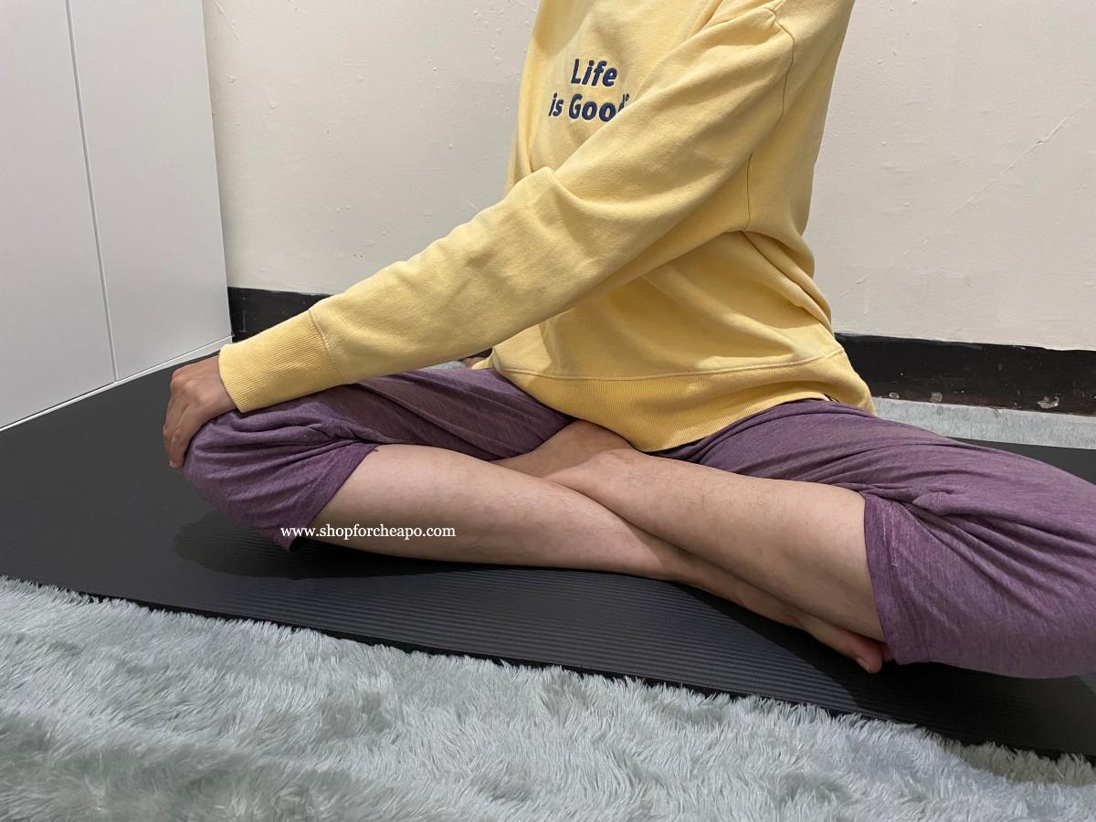 salah satu pose yoga