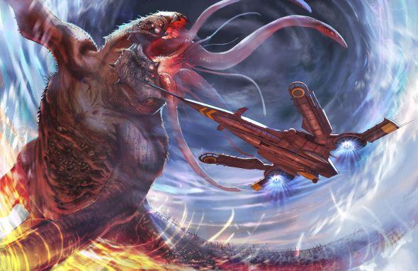 Alex Chen artstation arte ilustrações fantasia ficção científica
