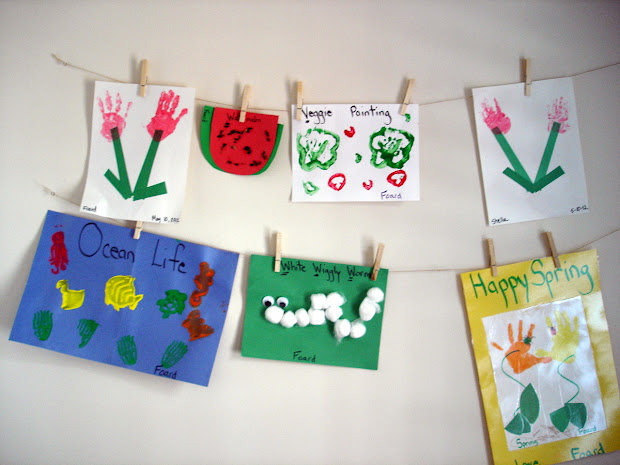 Minted Julep Preschool Art