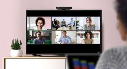 Portal TV supports zoom video calls