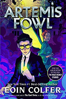 Review: Artemis Fowl by Eoin Colfer (re-post)
