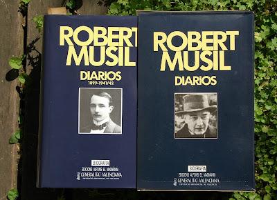 Resultado de imagen para diarios del escritor Robert Musil