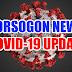 Isa Sa Dalawang Nagpositibo Sa Covid-19 Sa Sorsogon, Pinangalanan