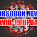 4 New COVID19 Cases In Sorsogon Include Baby, Pregnant Woman