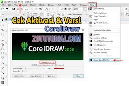 Mengetahui Lisensi CorelDraw Sudah Teraktivasi atau Belum