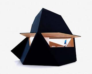 El  Tetra  Shed  un espacio genial para oficina privada.