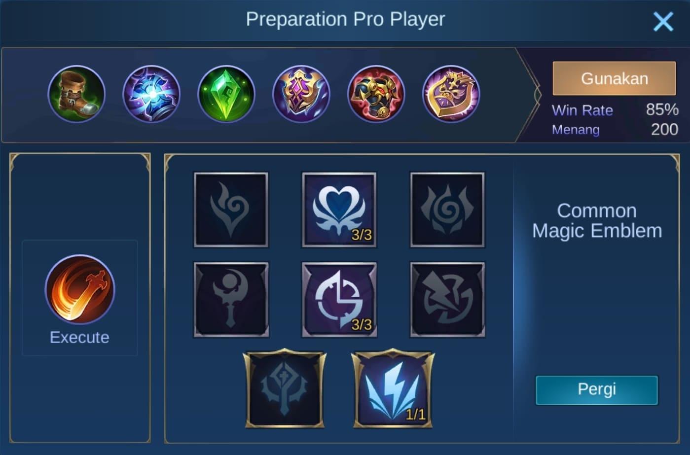 build item silvanna mobile legends (ML)