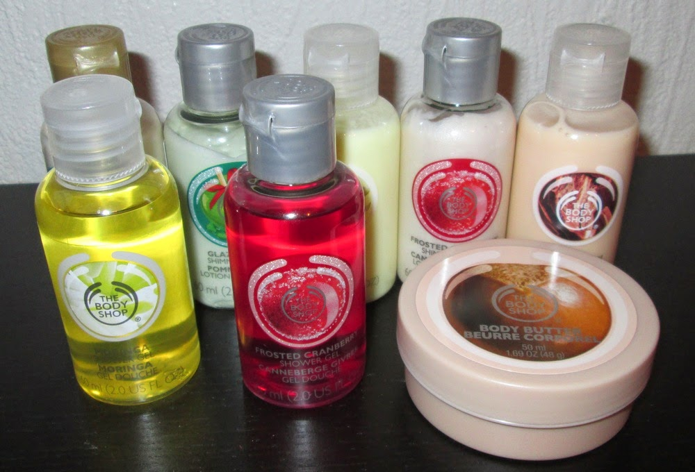joulukalenteri 2018 the body shop Blinger shimmer: The Body Shop  joulukalenteri loppuyhteenveto joulukalenteri 2018 the body shop