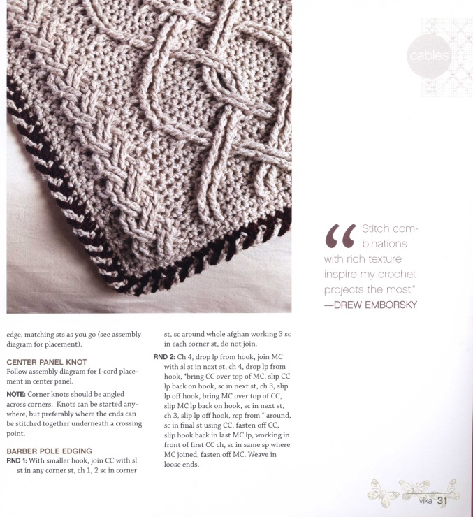 Free English Crochet Patterns For Free Crochet Afghan Patterns 2356