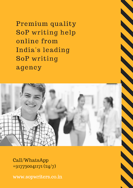 Sop writing services kochi
