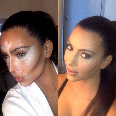 El Maquillaje De Las Celebrities: El Contouring