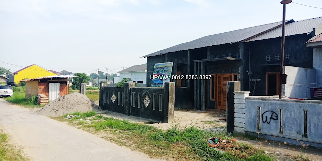 Rumah Murah Griya Marelan Khasanah 380 Juta Di Marelan Medan Gratis Biaya AJB, BBN, Notaris, Pagar Dan Bonus Umrah