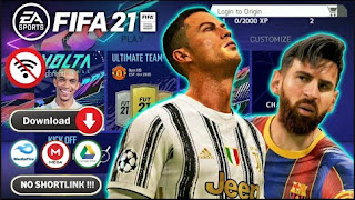 Download FIFA 14 MOD FIFA 21 Android Offline Best Graphics Full HD New Kits & Update Full Transfer