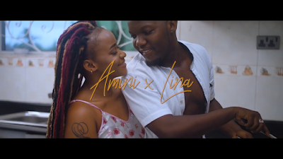 VIDEO | AMINI x LINAH ~ NIMENASA| [official mp4 video ]