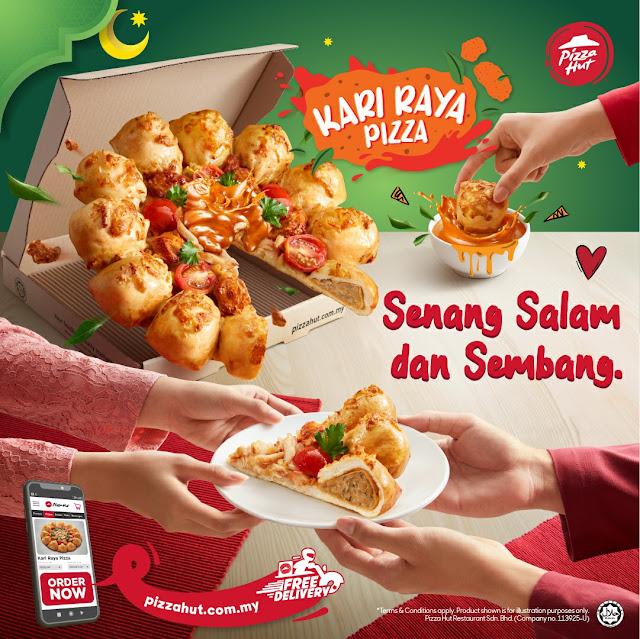 Sedap Weh Rasa Pizza Kari Raya Terbaru Dari Pizza Hut