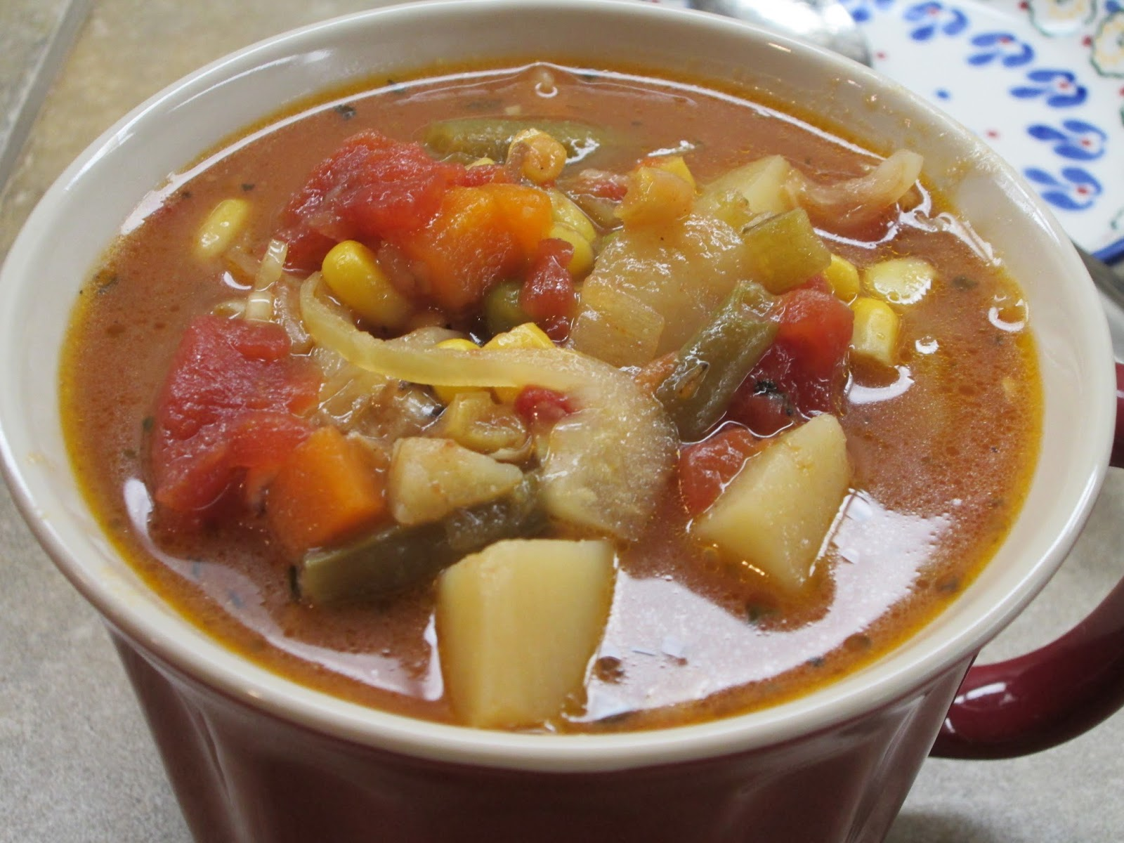 Please, DON'T pass the salt!: Vegetable Soup - The Easiest ...