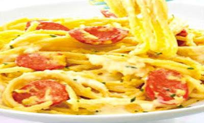 Foto Resep Spaghetti Carbonara Kraft Sederhana Lezat Sajian Sedap