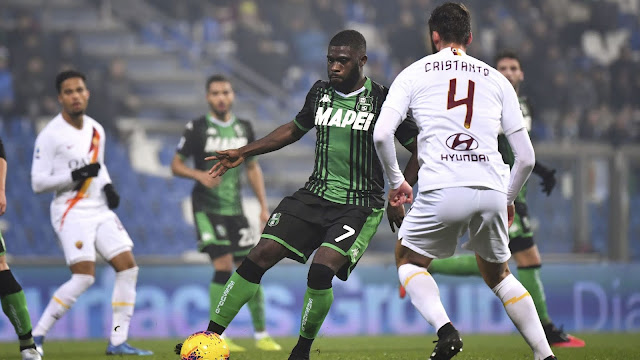Video Cuplikan Gol: Sassuolo 4-2 AS Roma (Serie A)