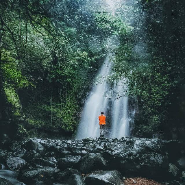 Curug Ciampea Bogor Jawa Barat