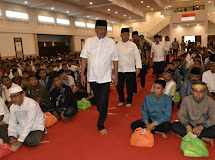 Pangdam XIII/Merdeka dan Gubernur Sulut Buka Puasa Bersama Prajurit Kodam XIII/Merdeka