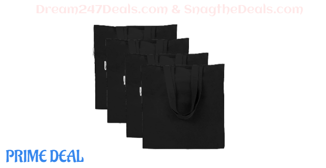50% OFF Crafting Decorating Shopping Bag--4pacs