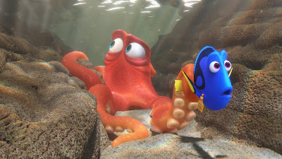 Finding Dory Hank and Dory screencap