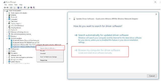 Mengatasi Wifii Limited Saat Menginstal Windows 10