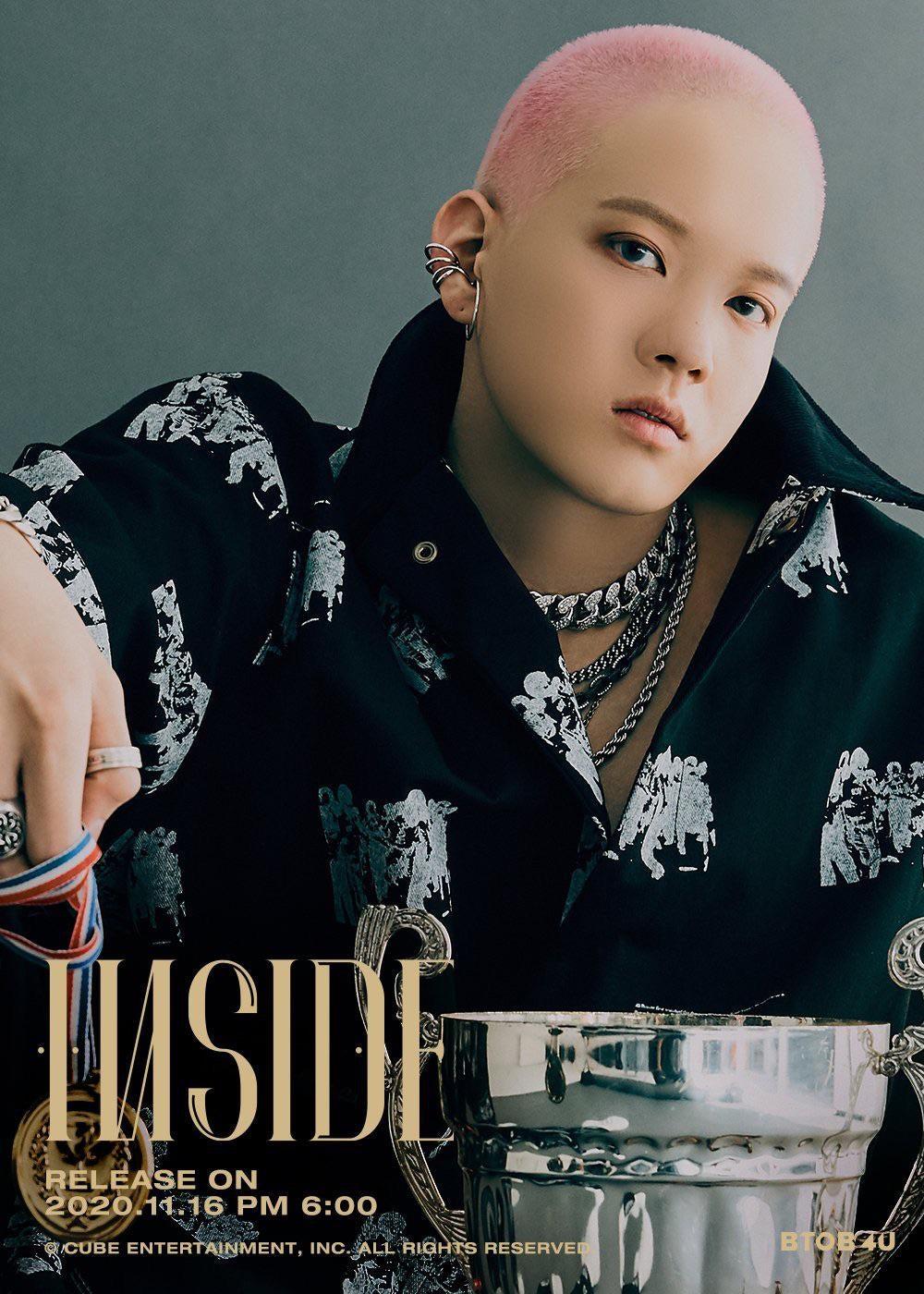 BTOB 4U Starts Releasing Teaser Ahead of Debut with Mini Album 'INSIDE'