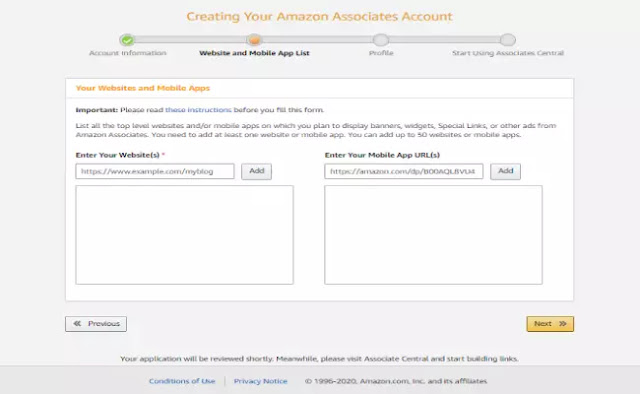 amazon website and mobile aap linking
