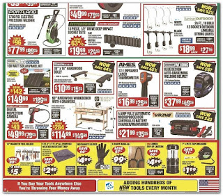 Black Friday Ad Harbor Freight Tools 2019 sale