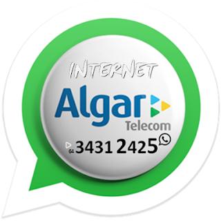 Contratar Internet pelo atendimento Whatsapp algar telecom em Itumbiara.