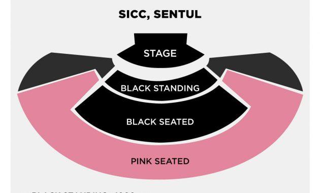 Posisi duduk di konser blackpink Indonesia