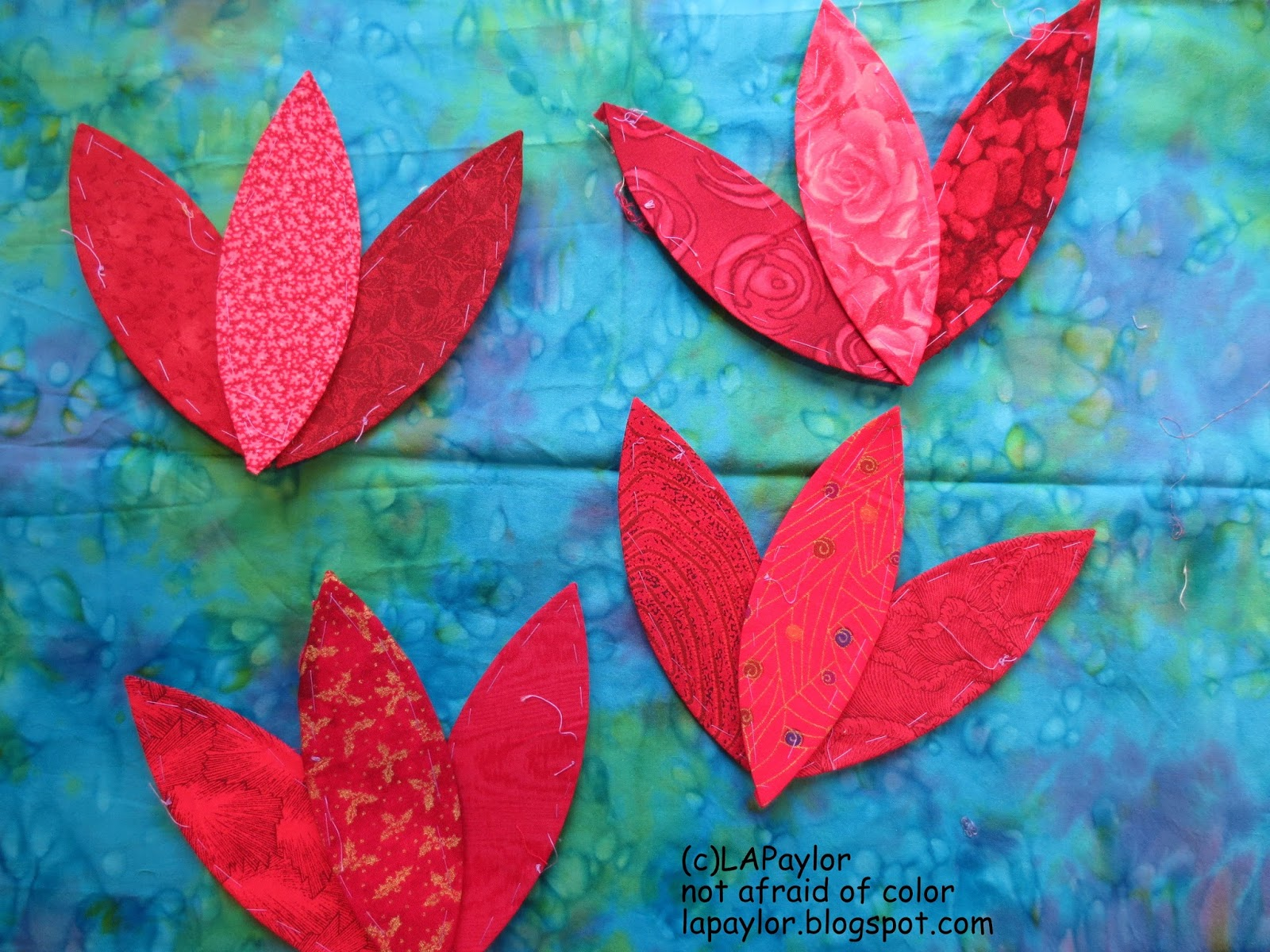 Not Afraid of Color: Red leaves, or flowers?