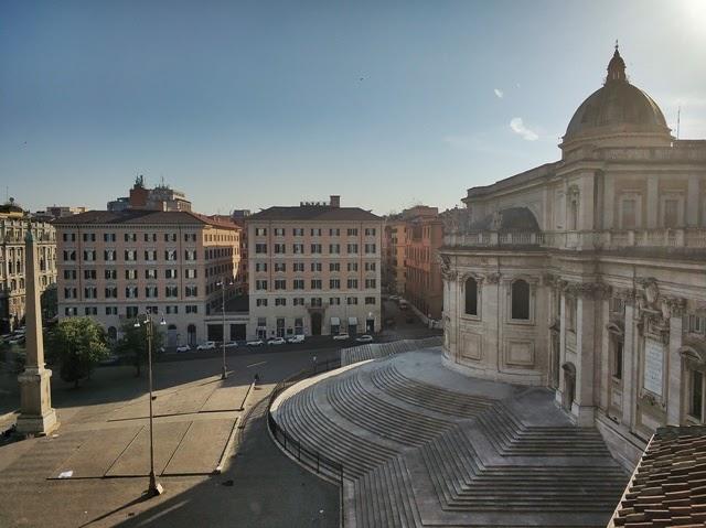Vista desde la terraza del Hotel Gallia a S.M. Maggiore