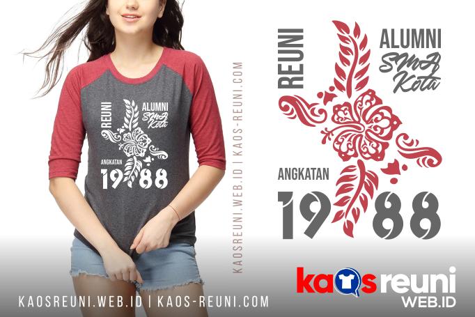 Sablon Kaos Reuni Gathering Desain Terbaru SMP SMA Alumni Angkatan