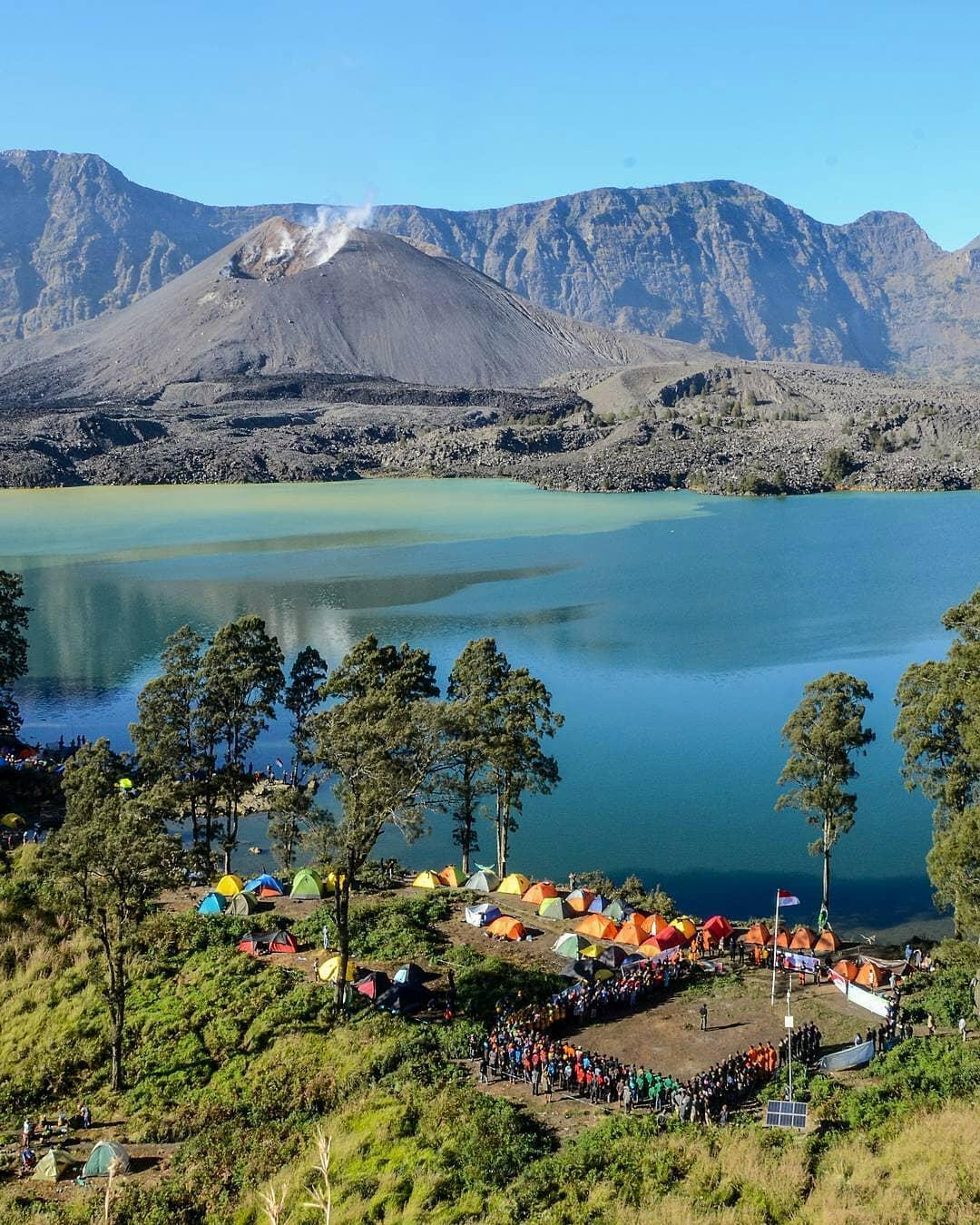 Estimasi biaya pendakian gunung Rinjani via darat