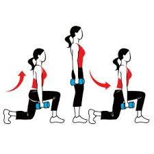 How to Get Rid of Cellulite from Buttocks with Lunges?