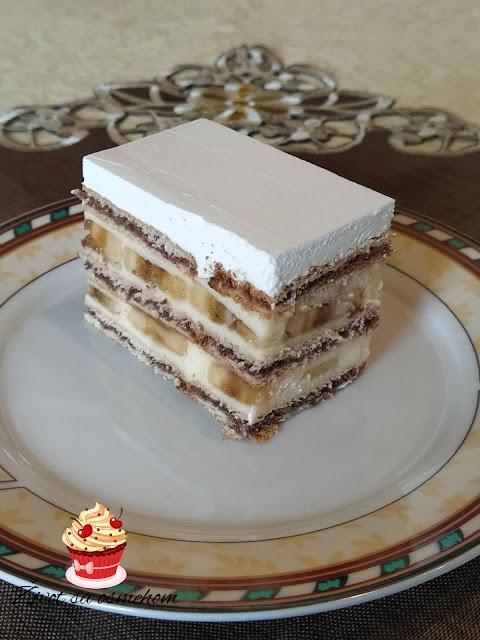 Banana torta sa keksom