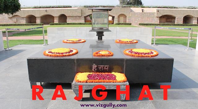 Rajghat Gandhi Memorial Vizgully www.vizgully.com